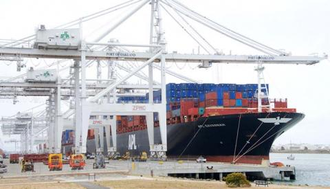 The loss of a terminal operator at the Port of Oakland, pictured, is not expected to have any long-term negative impacts.