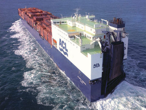 Atlantic Container Line ro-ro carrier