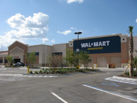 Wal-Mart store in Florida