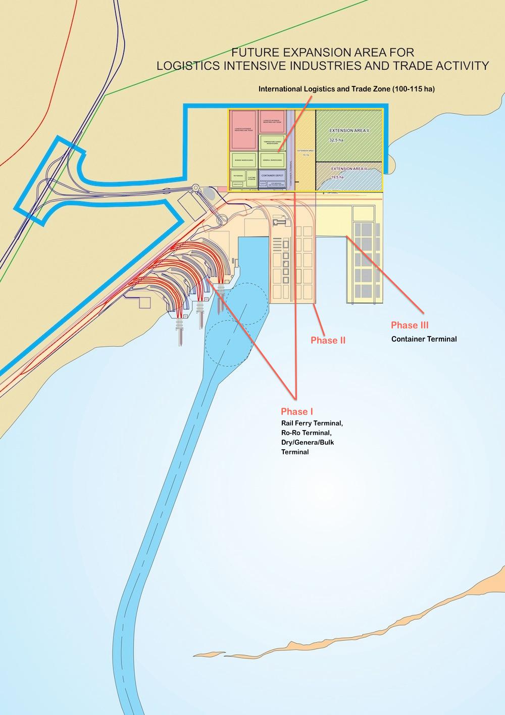 Caspian Sea Port Of Baku Builds For ChinaEurope Overland Links - Where is baku