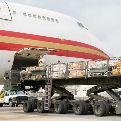 Airplane Cargo Loading