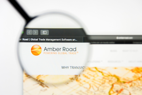 Amber Road-Technology- Logistic Provider