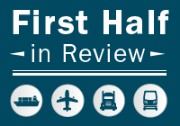 First Half in Review logo