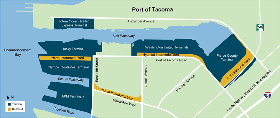 Terminal Consolidation Seen as Crucial for Seattle-Tacoma | JOC.com