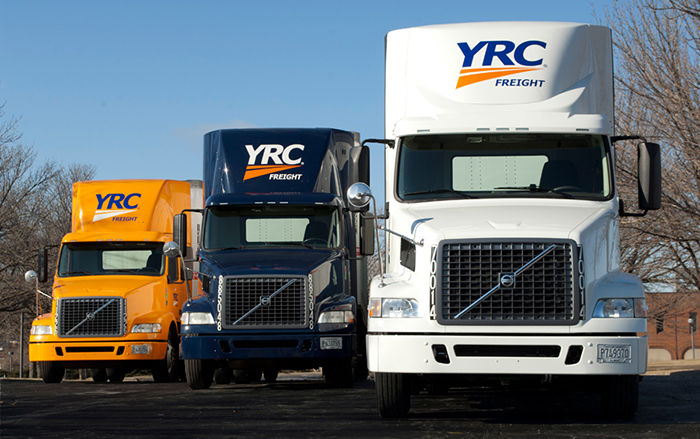 YRC trucks