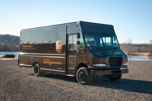 UPS hydraulic hybrid vehicle