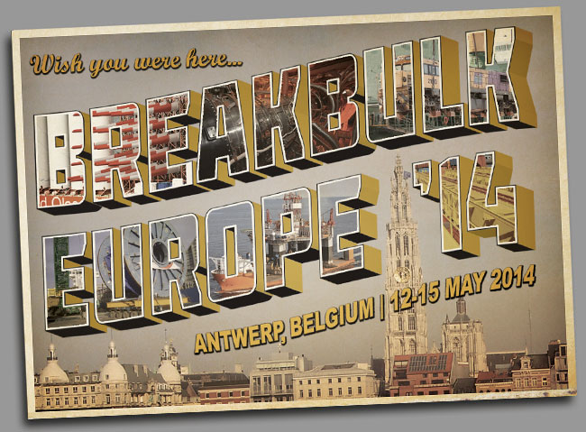 Breakbulk Europe 2014 :: Antwer, Belgium : 12-15 May 2014